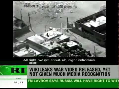 Mainstream media ignores Wikileaks video