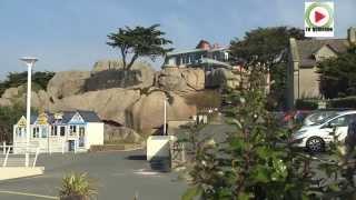 #Tregastel - Les enormes rochers roses de Tregastel - Bretagne Télé