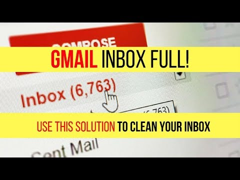 Gmail Inbox Full? Try this Simple solution to Clean your Inbox.