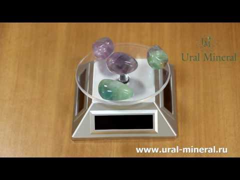 Самый экстрасенсорный камень - флюорит