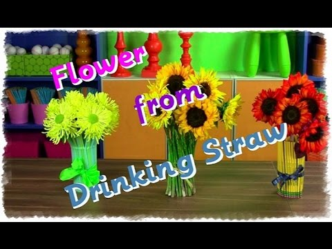 Recycled straw mat video guide funnycat tv - Best out of waste with straws ...