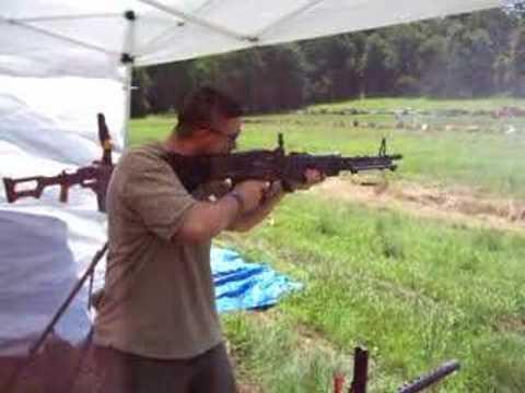 M60 full auto machine gun Vietnam vintage