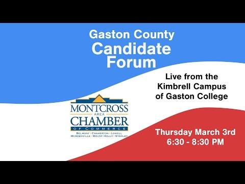 Gaston County Candidate Forum