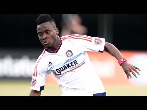 GOAL: David Accam smooth finish against Orlando City