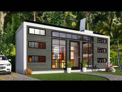 100% Off Grid Sustainable Container Home For Sale $50K