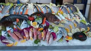 Креветки кальмары рыбка и другие морепродукты где купить в Шарм эль Шейх