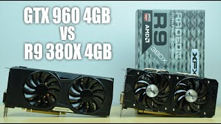 r9 380x 4gb vs gtx 960 ftw 4gb gta v fallout 4 the witcher 3 ac syndicate benchmarks