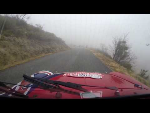 Rallye Monte Carlo Historic onboard with Bill Richards in the Mini Spares Sponsored Mini ZR12 SECTIO
