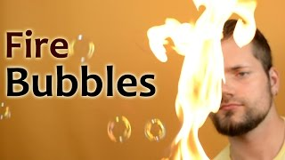 Burning Soap Bubbles | Cool Science Experiment