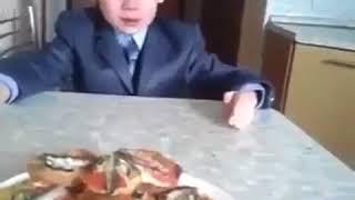 У мальчика накипело про школу
