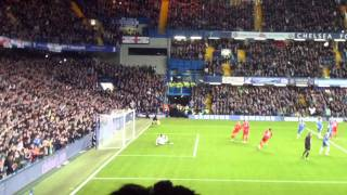 Andy Carroll penalty miss