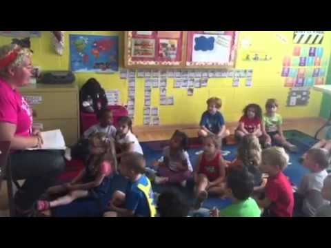 Sun Safety Song in DeKalb, IL YMCA