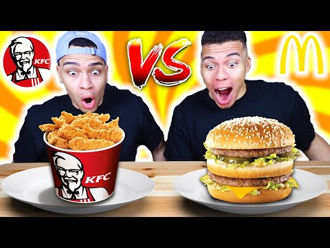 KFC VS MCDONALDS