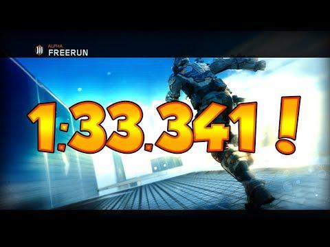 BO3 Freerun Alpha WR 1:33.341!!! (8/16/17) 1st Place!!!!!