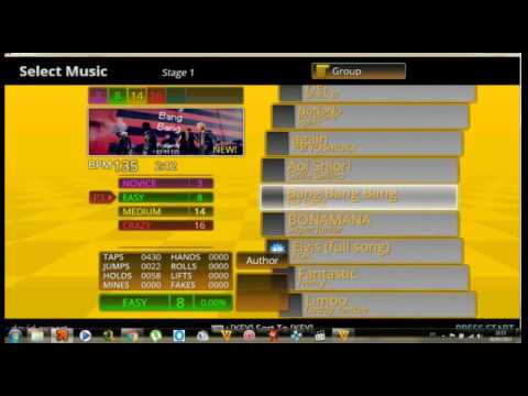 Stepmania K-Pop hits Vol 1 Pump It Up download