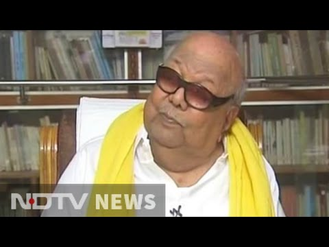 A first for Karunanidhi: