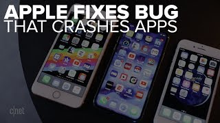 Apple fixes app-crashing bug in its OSes (CNET News)