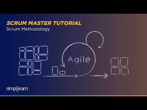 Scrum Methodology | Scrum Master Tutorial | Simplilearn