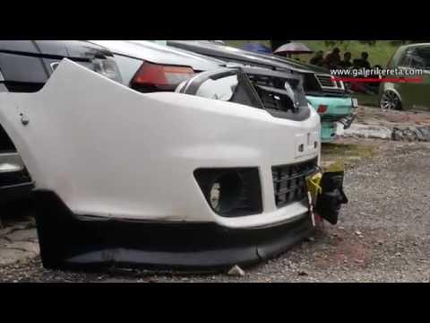 Lowered White Saga FLX with Black Bodykits - YouTube