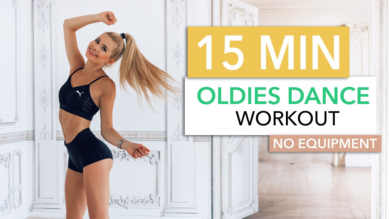 15 Min Oldies Dance Workout Burn Calories To 90s And 80s Hits No Equipment I Pamela Reif Youtube