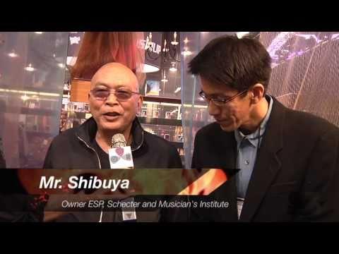 Mr. Shibuya of ESP Japan: Seymour Duncan Stories