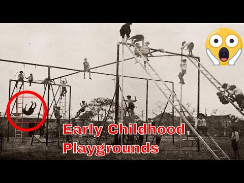 Incredibly Kids Playgrounds From Early 20th Century
