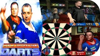 PDC World Championship Darts 2008 Gameplay ( PS2 ) HD