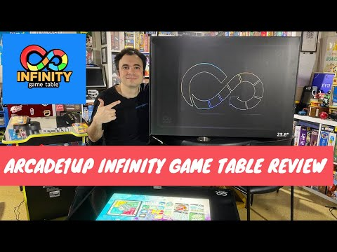 Infinity Game Table by Arcade1Up Review - Digital Board Games, But Is It Any Good? from UrGamingTechie