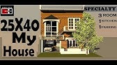 12X30 huse plan video by build your dream house - YouTube