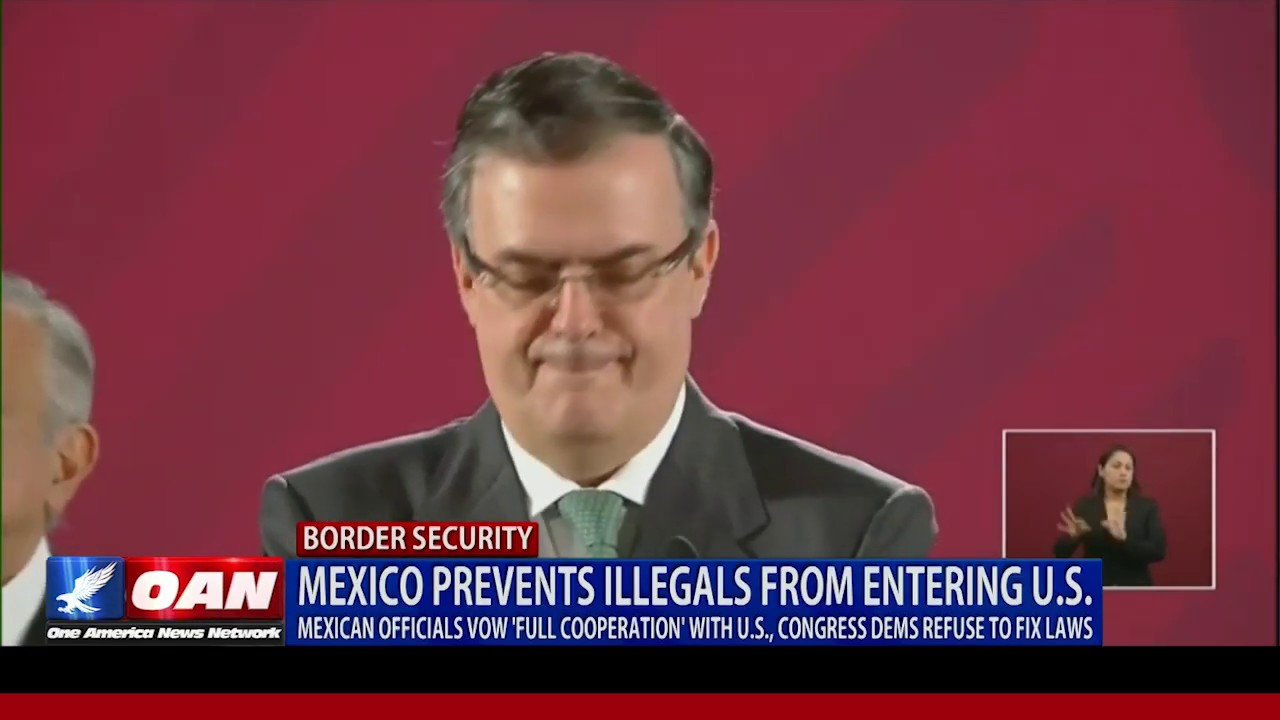 OAN Mexico prevents illegals from entering U.S.