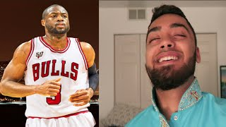 Die hard chicago bulls fan reacts to dwyane wade signing with the chicago bulls!
