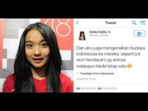 Salah artikan Tut Wuri Handayani, member JKT48 Della dibully