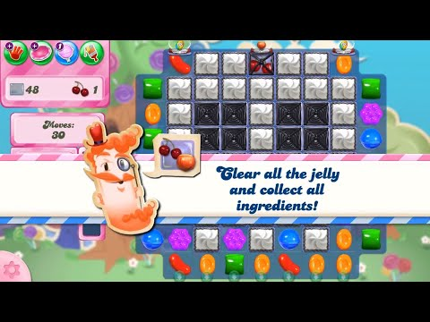 Candy Crush Saga Level 2754 NO BOOSTERS