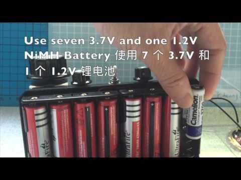 26V 3 vacuum tube regen radio