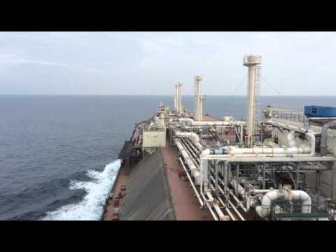 LNG Carrier Speed Trial