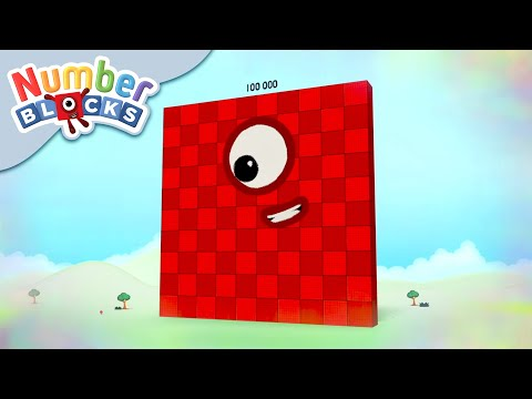 Numberblocks - Who is the Toughest Block?   Maths Challenge   Learn to Count
