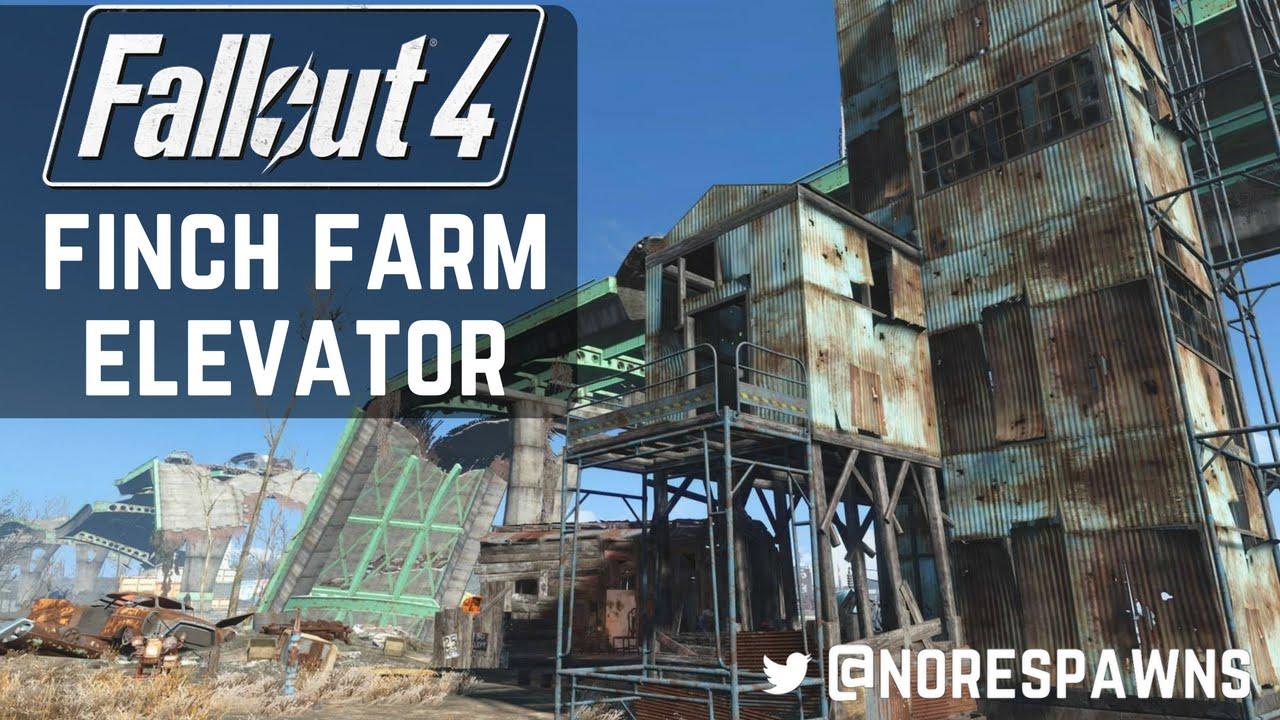 Fallout  Finch Farm Build
