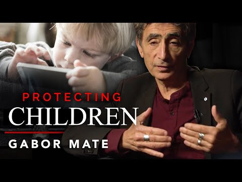 SHOULD PARENTS PROTECT THEIR CHILDREN FROM DEVICES? - Gabor Maté  explains addiction  London Real