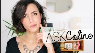 #AskColine | Métier? Room Tour? Meet Up? | Coline