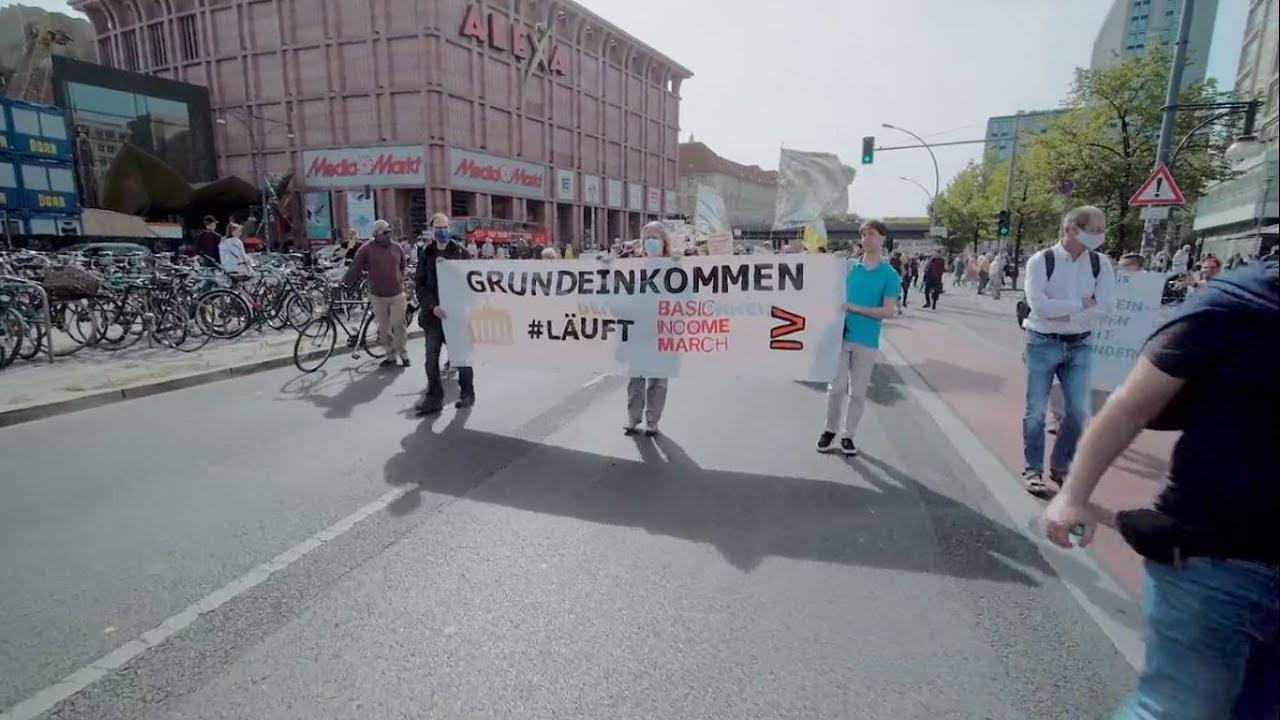 2. Basic Income March Berlin Sa 19.09.2020 Zusammenschnitt Redebeiträge 1