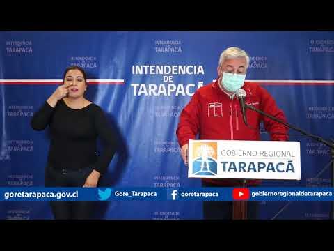 Punto de prensa 26 de julio de 2020 - Gobierno Regional de Tarapacá