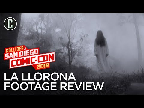 The Curse of La Llorona Footage Review - SDCC 2018
