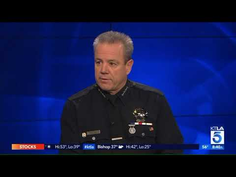 LAPD chief disgusted by allegations officer fondled dead womans breasts