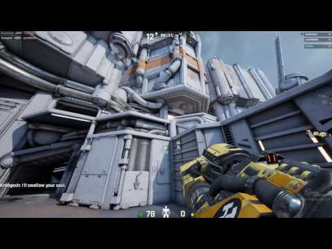 Epic Carnage - Unreal Tournament 2016 DeathMatch On Outpost 23