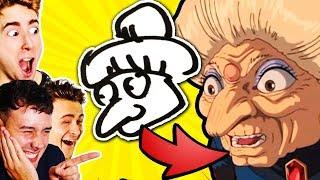 FILME von Zeichnungen ERRATEN! CrispyRob VS Dima