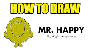 How To Draw Mr Happy