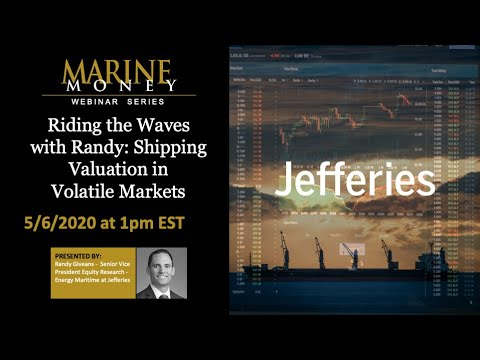 Marine Money Webinar Series - Episode 6: Riding the Waves - Shipping Valuation in Volatile Markets
