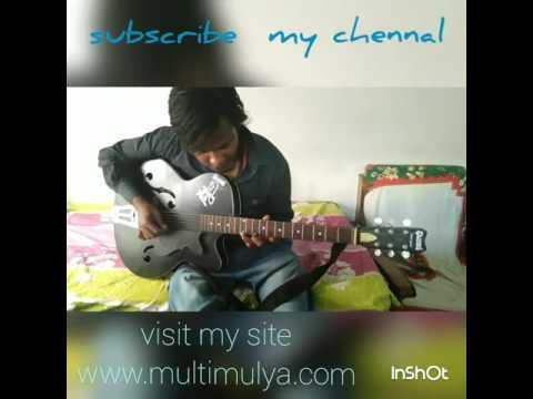 Guitar Play By Radhey Acha Chalta Hu Duao Me Yadd Rakhna .......................