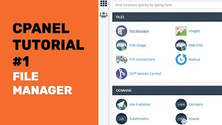 cPanel Tutorial | H๐w To Use cPanel File Manager To upload you website and Get Your Website Online