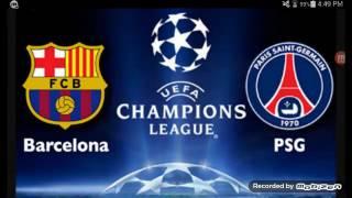 fc barcelona vs psg 6 1 barcelona make uefa champions league history